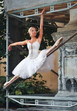 mobile-Ballettstange-Test